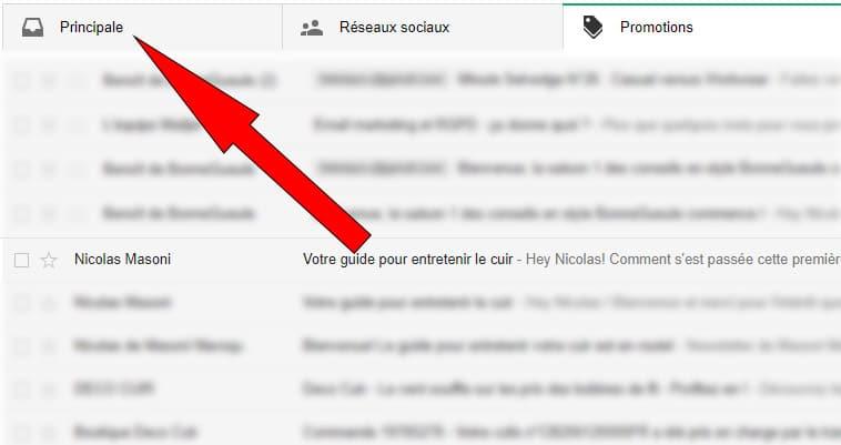 gmail comment éviter les spams