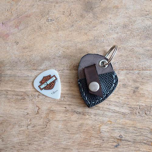 Porte-médiator (porte-clés) accessoire pour guitariste