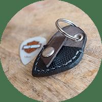 porte mediator cuir masoni maroquinerie porte-clès