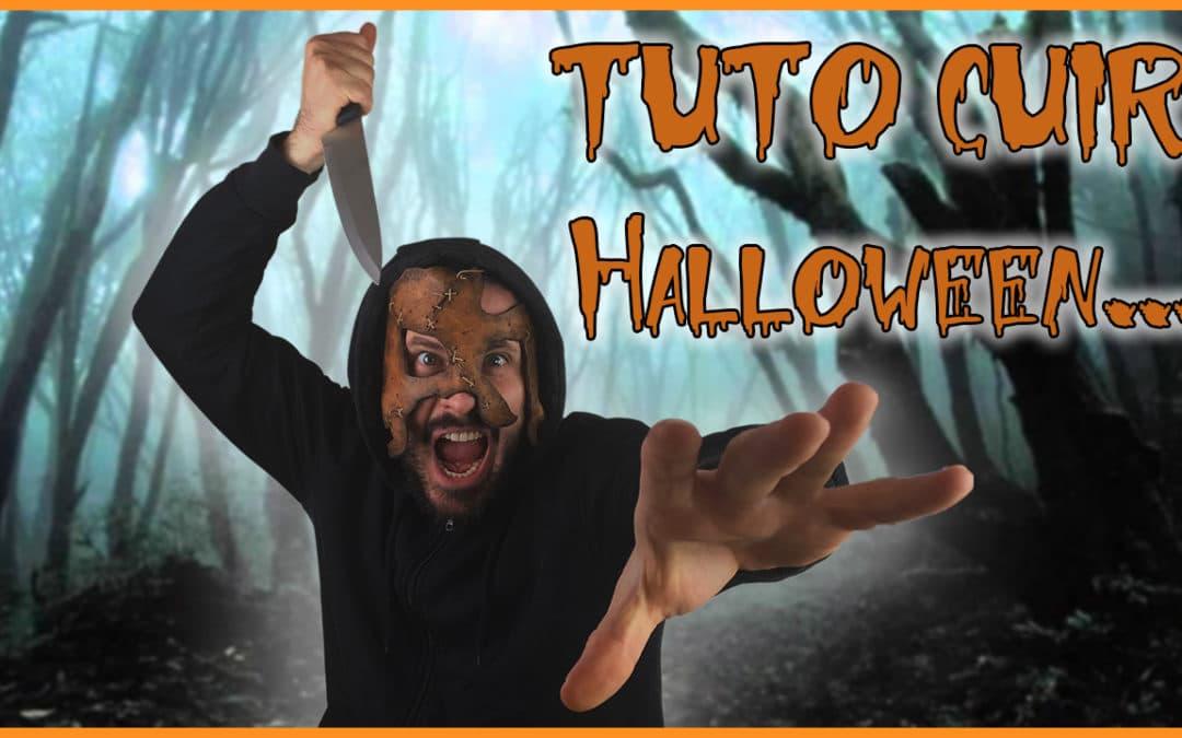 Un Masque d'Halloween terrifiant à réaliser en dernière minute!