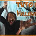 Tuto masque en cuir déguisement Halloween carnaval horreur masque terrifiant - Masoni Maroquinerie - Travail du cuir - Comment faire un masque en cuir